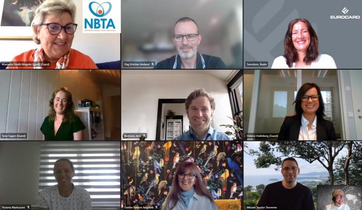 NBTA – oppfølging fra digitalt sponsormøte torsdag 27. mai kl. 09.00-10.30